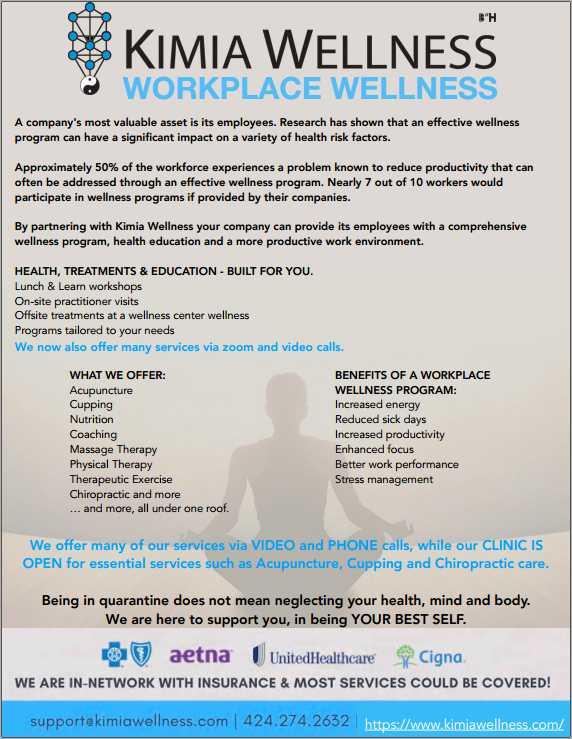 Kimia Wellness Catalogue